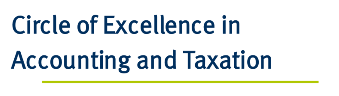 Logo Circle of Excellence in Accounting and Taxation